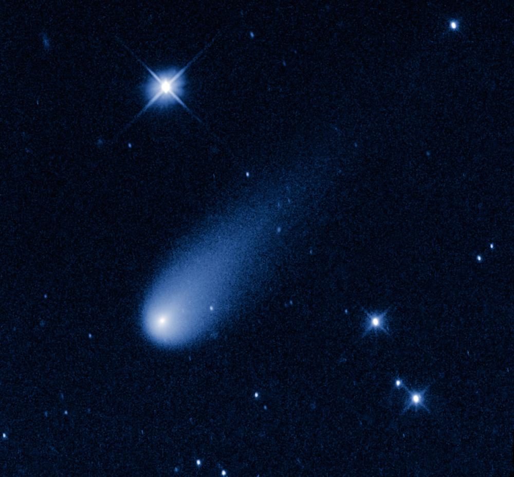 Worksheet Comet Telescope comet ison of the century fireworks video by hubble telescope