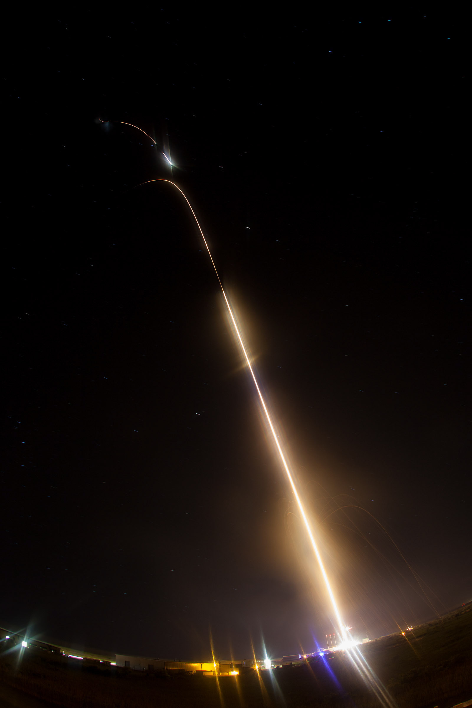 Dazzling NASA CIBER Rocket Launch