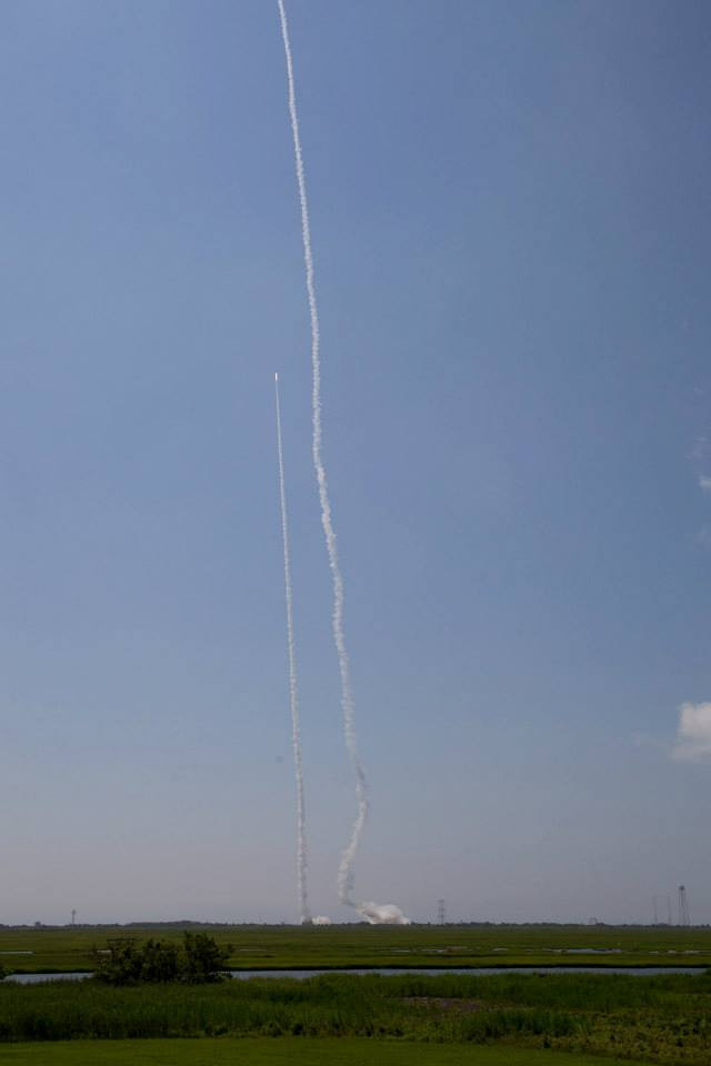 Dual Rocket Launches Mark Fourth