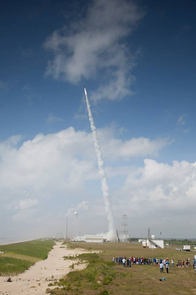 Dual Rocket Launch From Wallops