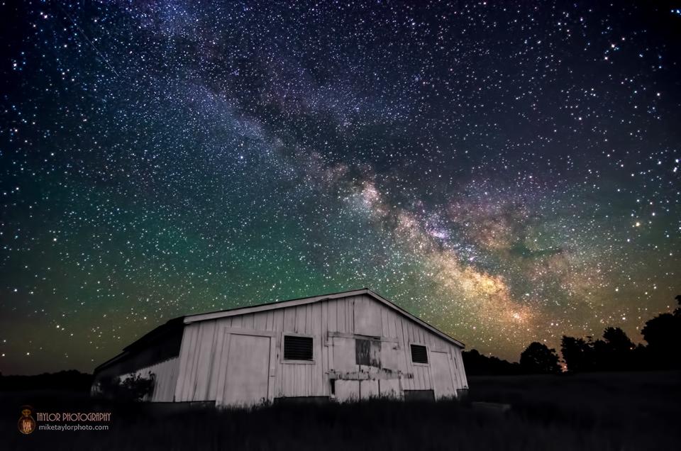 Milky Way Over Rural Maine
