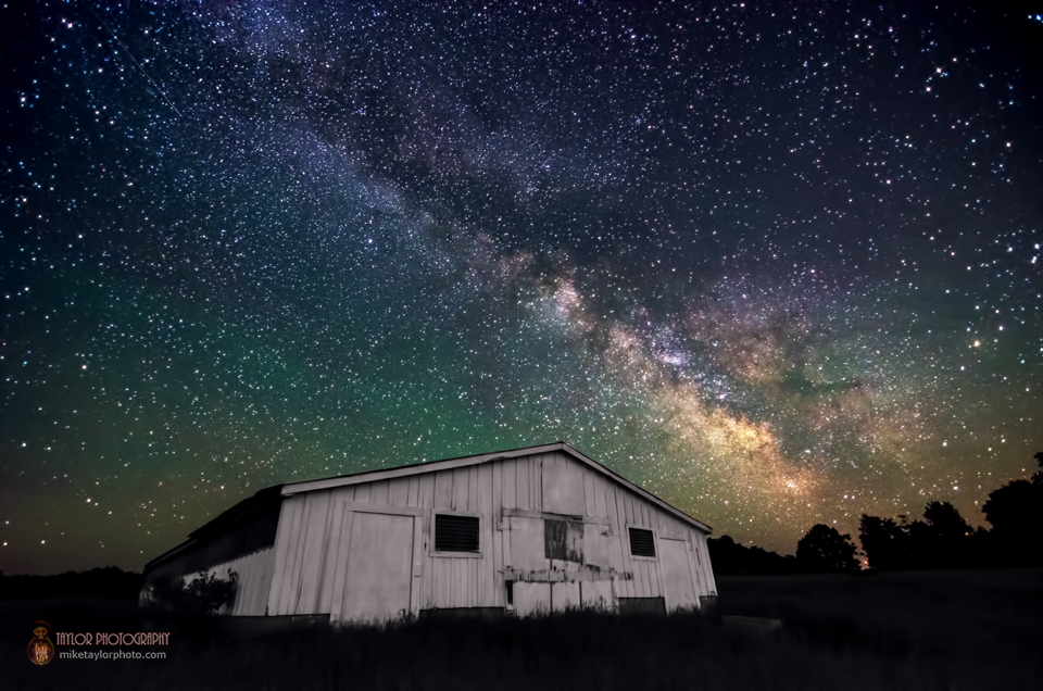 Milky Way Magic Captured Over Rural Maine (Photos)