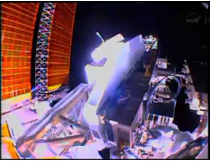 Luca Parmitano on Spacewalk