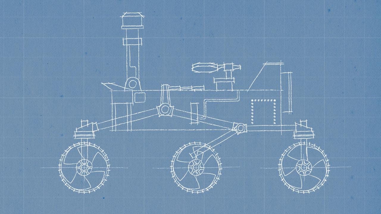 Mars Rover 2020 Sketch