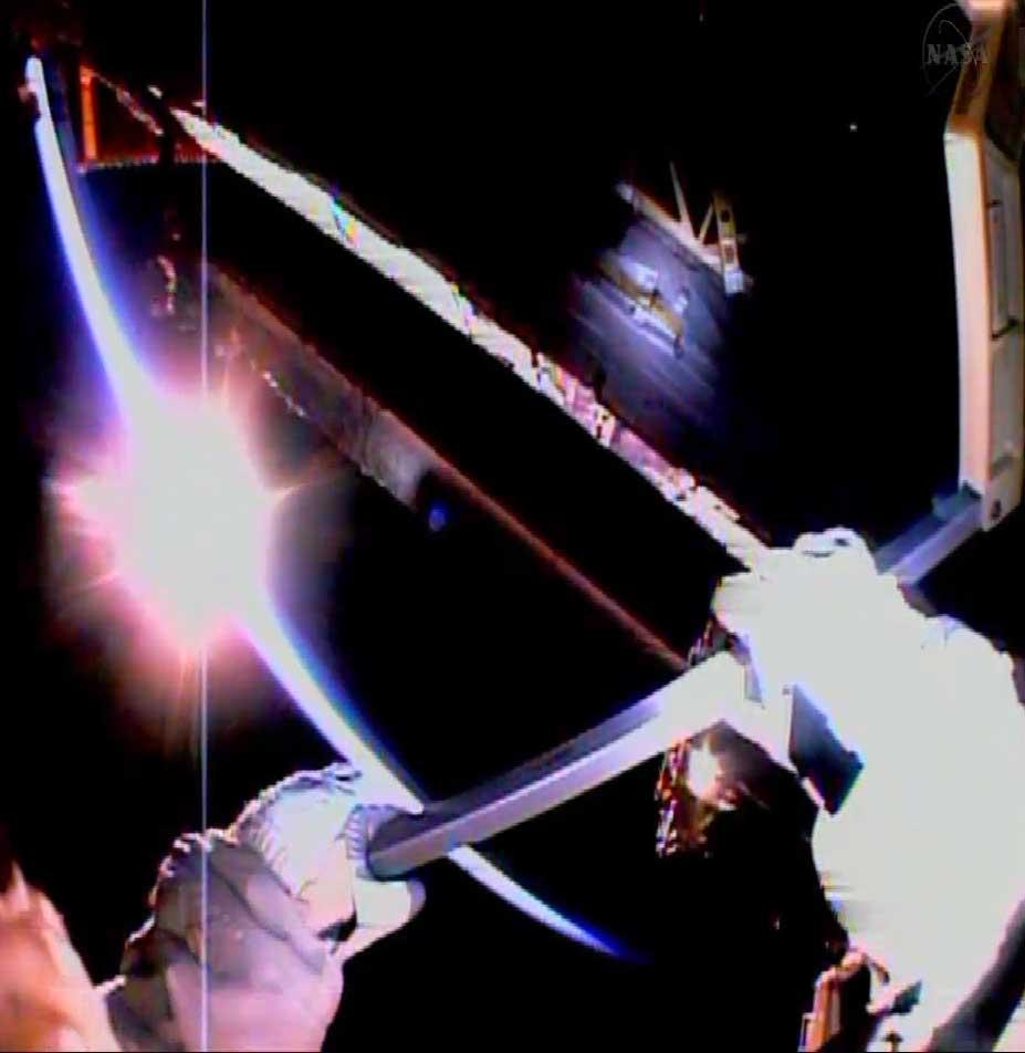 Spacewalk Sunrise