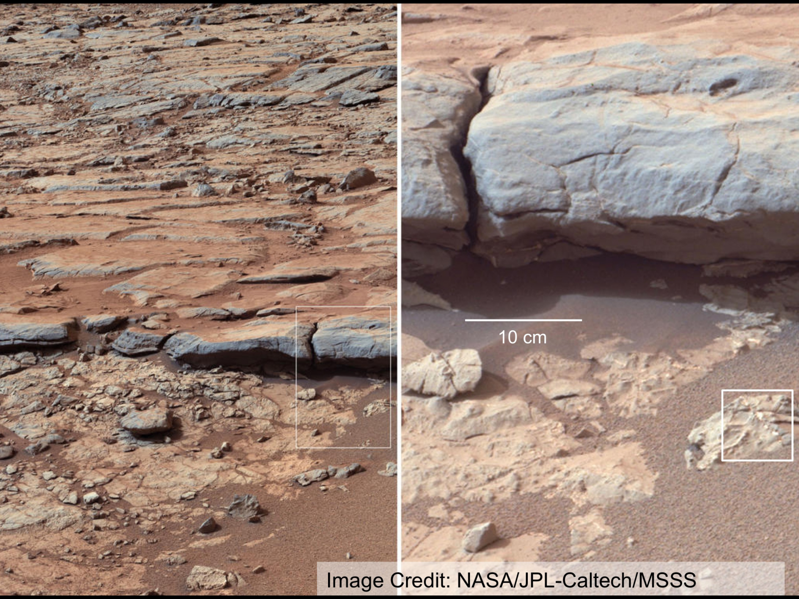 NASA Mars Rover 2020 Nested Images