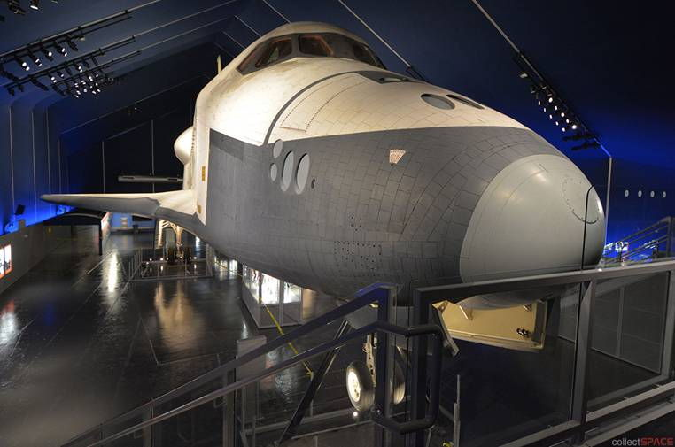 Space Shuttle Enterprise 'Launches' for Second Time at NYC Museum