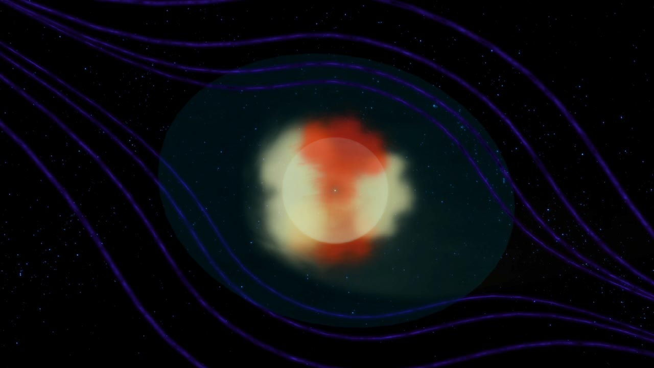 First Images of Our Solar System's Tail Revealed