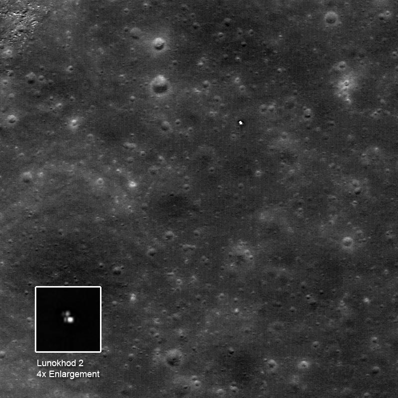 NASA Moon Probe Helps Pin Down Off-Planet Driving Record