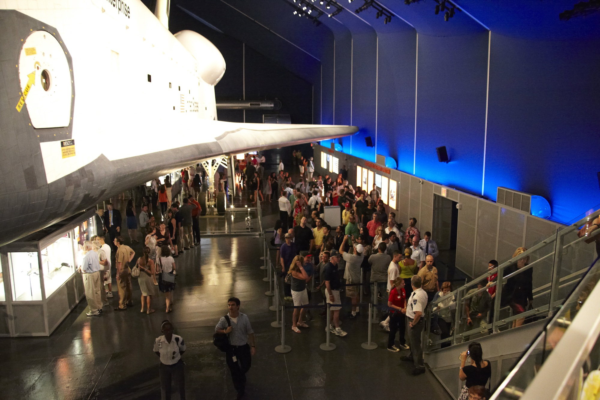 Celebrating Space Shuttle Enterprise Pavilion Reopening