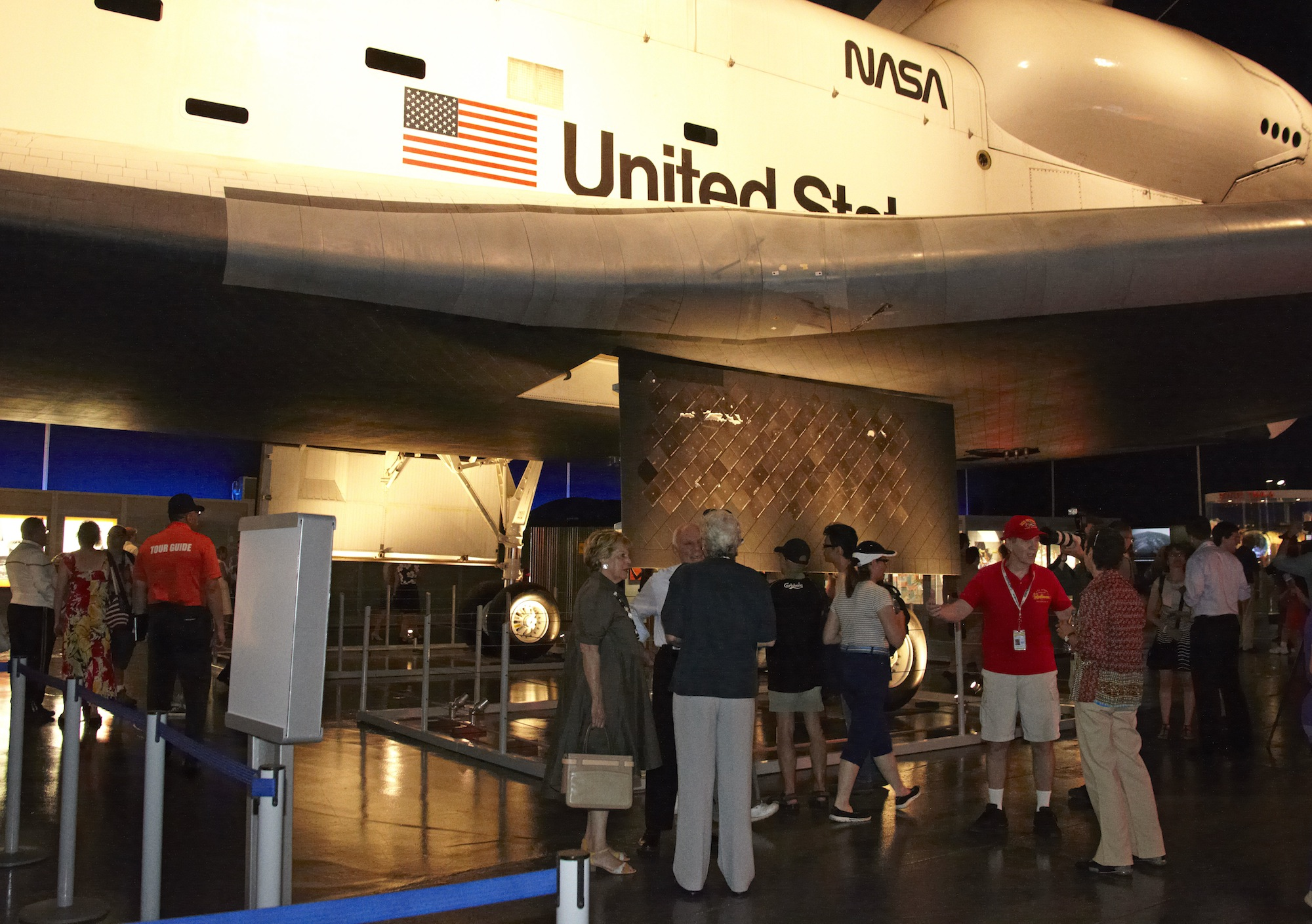 Space Shuttle Enterprise Up Close at Reopening