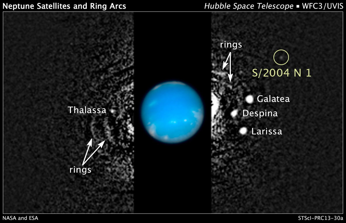 Tiny New Moon Discovered Around Neptune