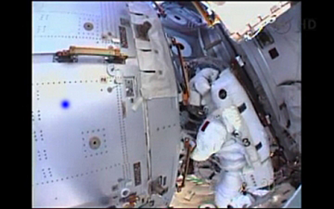 NASA Cuts Spacewalk Short After Water Leak Inside Astronaut's Spacesuit