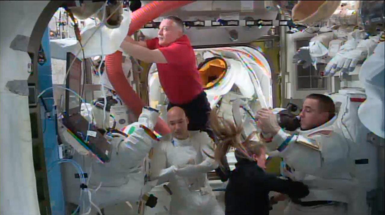 Post-Spacewalk Cancellation