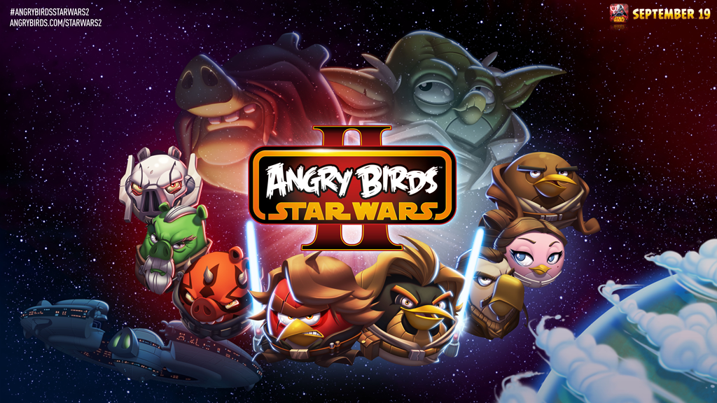 Rovio Reveals 'Angry Birds Star Wars II'