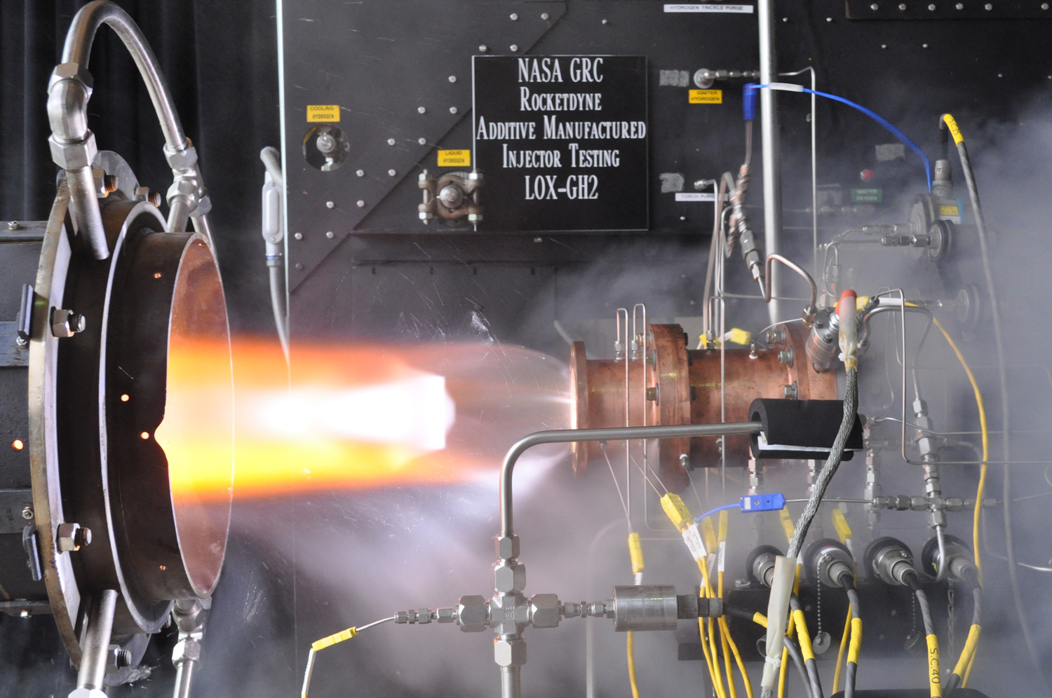 3D-Printed Rocket Engine Part Passes Key NASA Test