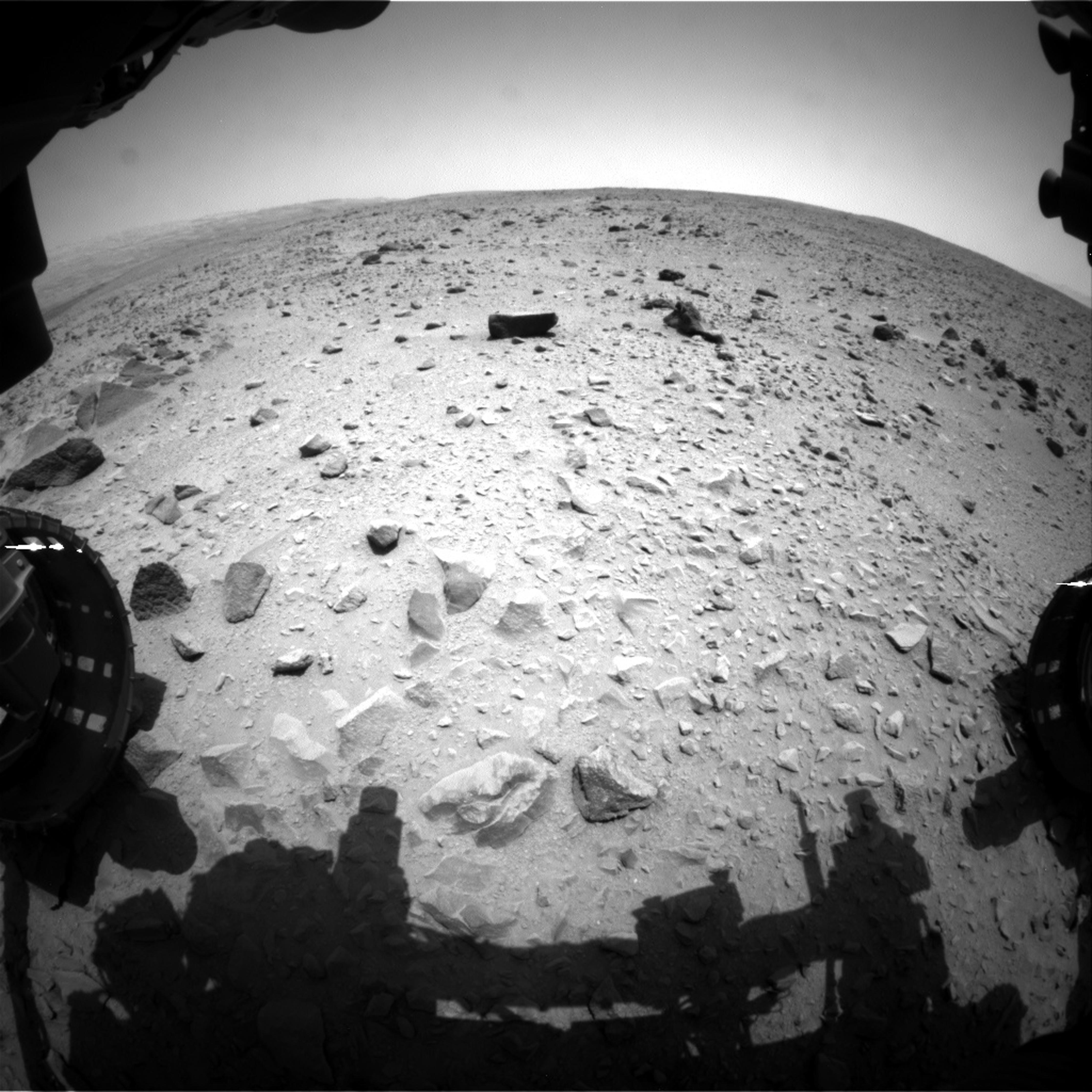 Mars Rover Curiosity Rolls Past Mileage Milestone