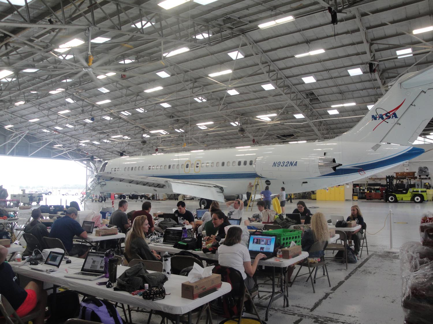 NASA Microgravity University Hangar