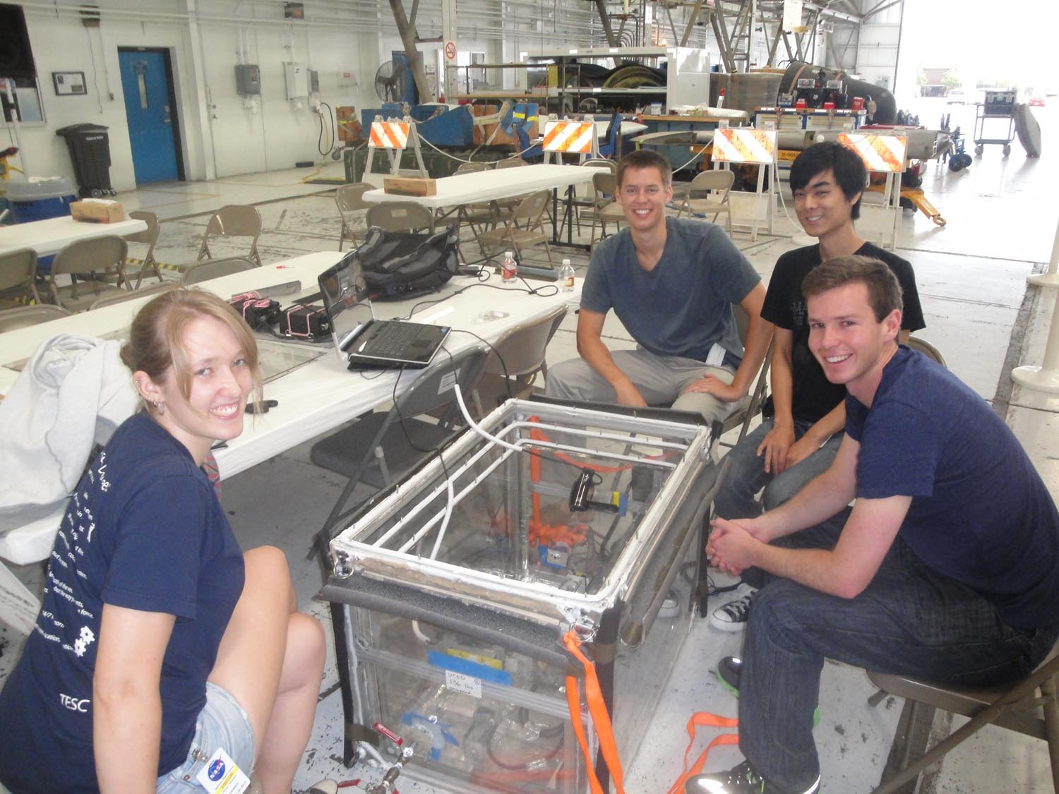 UCSD Microgravity Team: Waiting for Takeoff