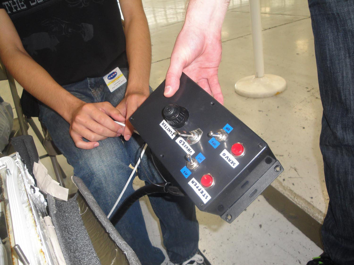 UCSD Microgravity Team: Control Box