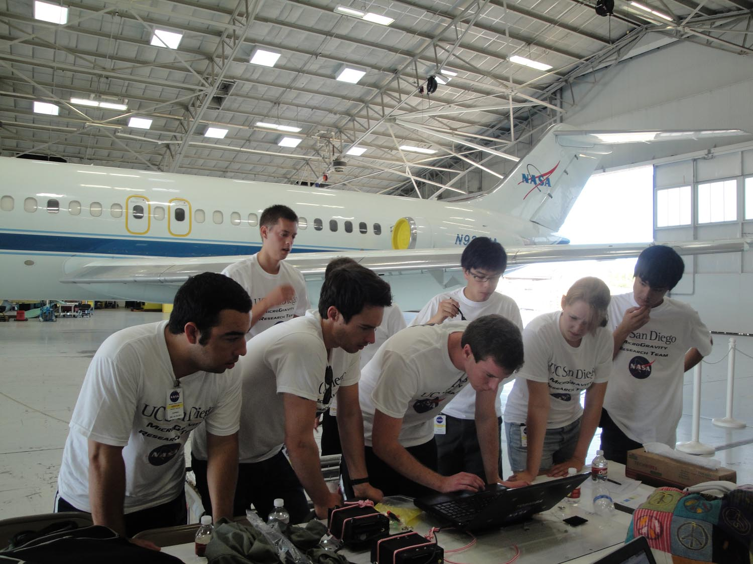 UCSD Microgravity Team: Flight Day