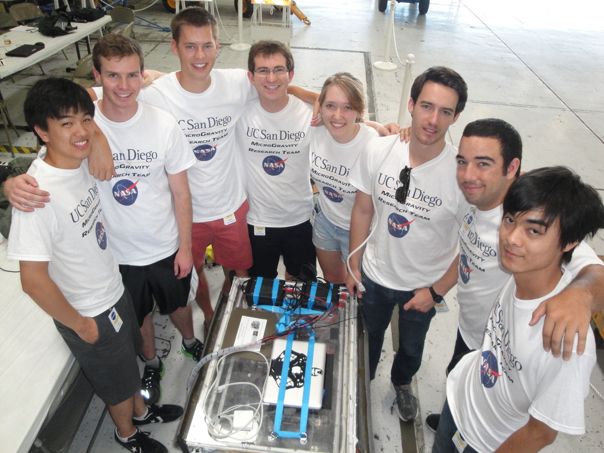 Bad Weather Delays Student Team's Zero-Gravity Fire Experiment