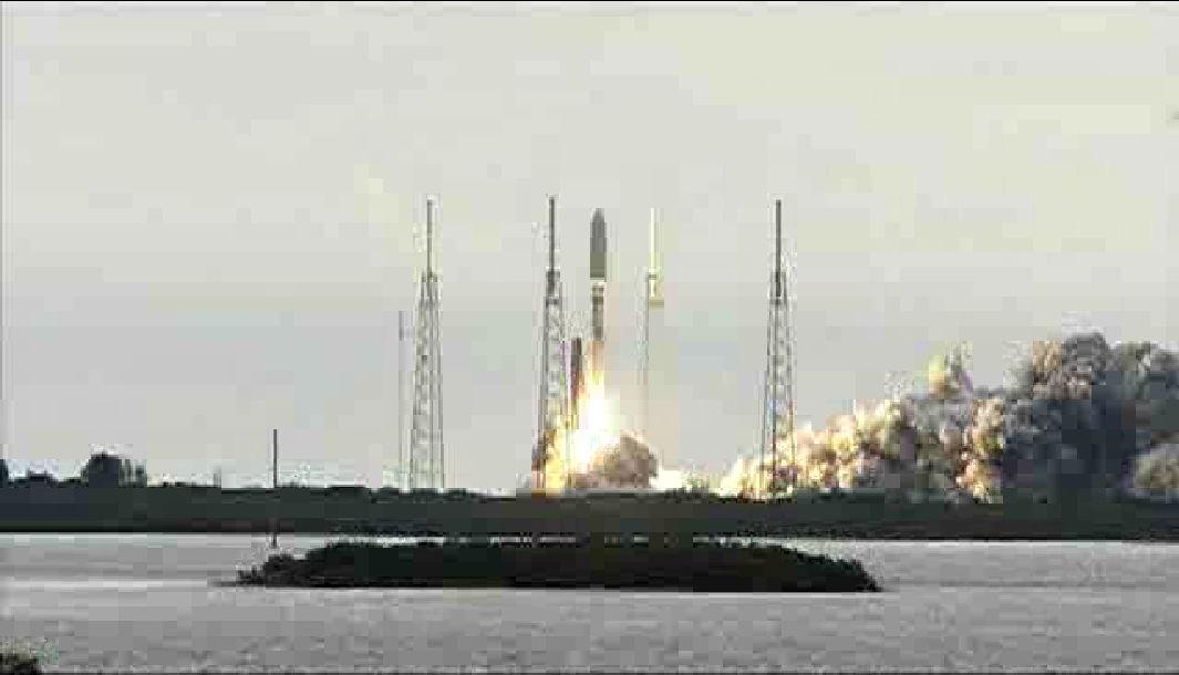 MUOS-2 Satellite Launch
