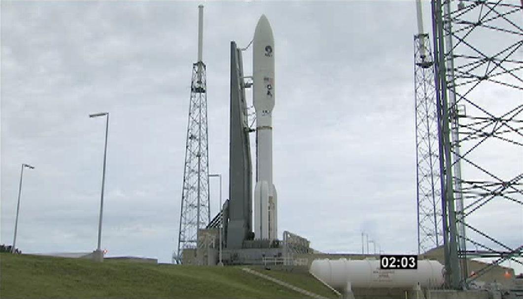 MUOS-2 Satellite on Launch Pad #2
