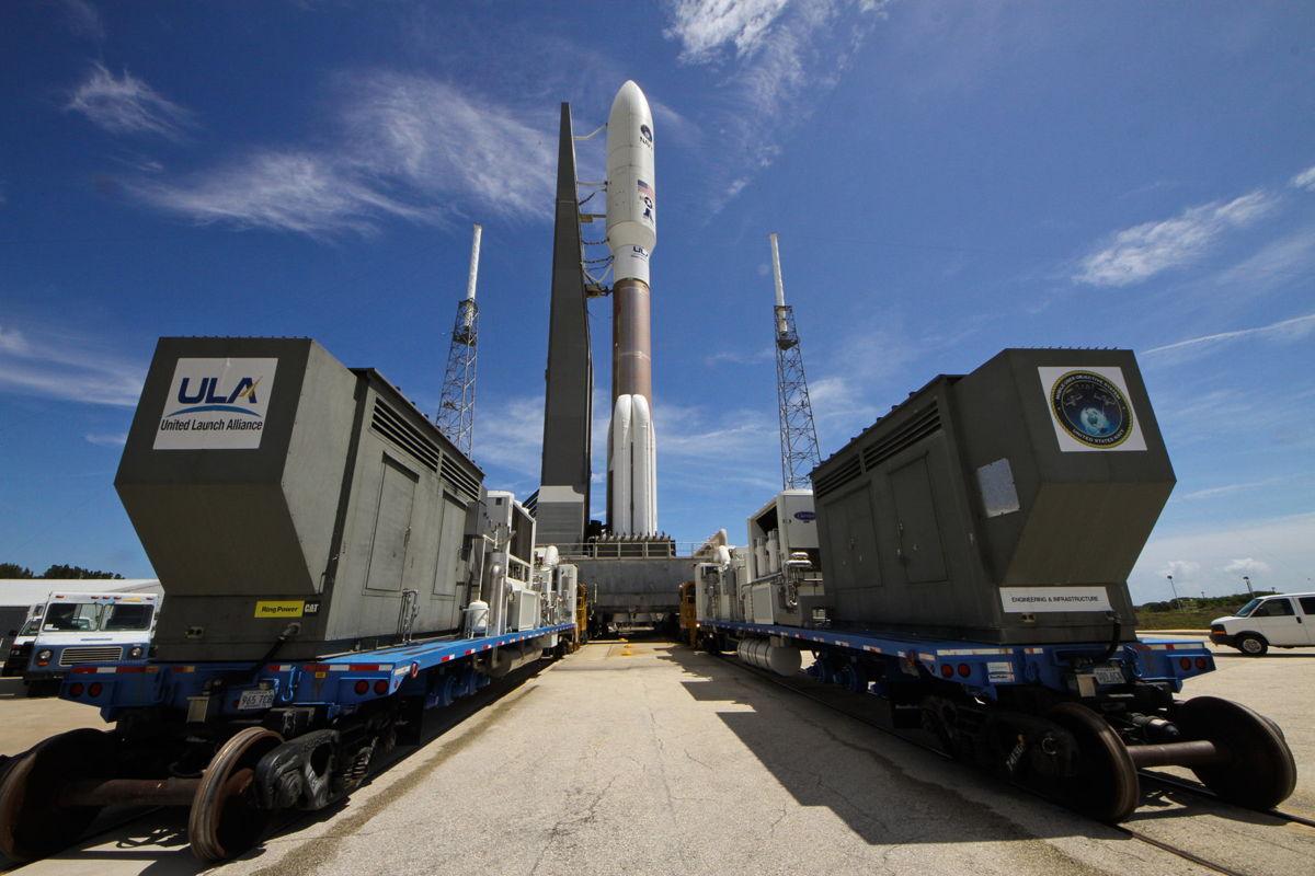 Atlas 5 Rocket Carries MUOS-2 Satellite