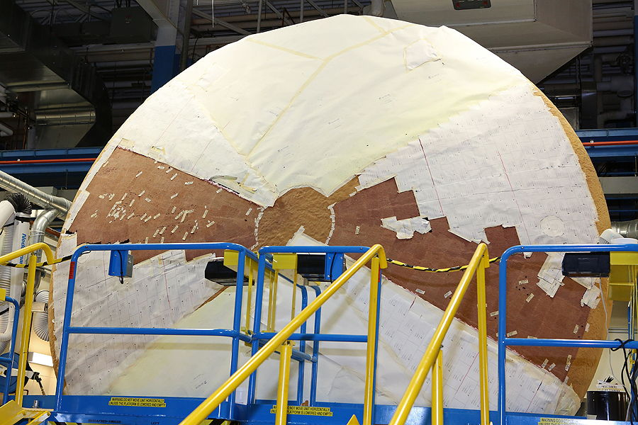 Heat Shield for NASA's New Orion Spacecraft Set for 2014 Test Flight