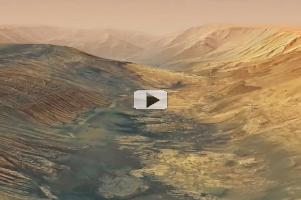 Mars' Grander Canyon - Herbes Chasm Fly-Though | Video