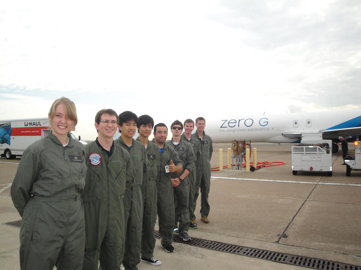 UCSD Microgravity team: Go for Flight