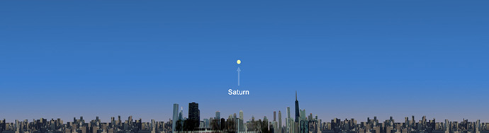 Wave at Saturn from Chicago