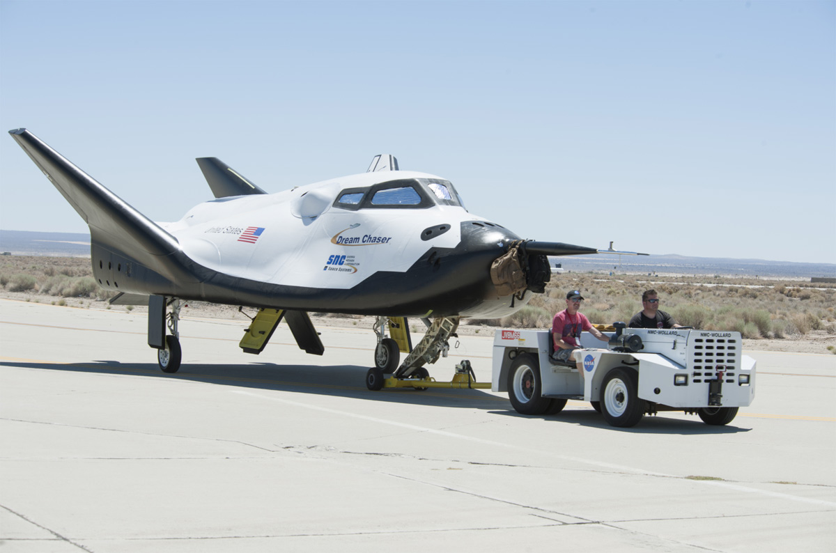 Sierra Nevada Corporation's Dream Chaser Test Vehicle