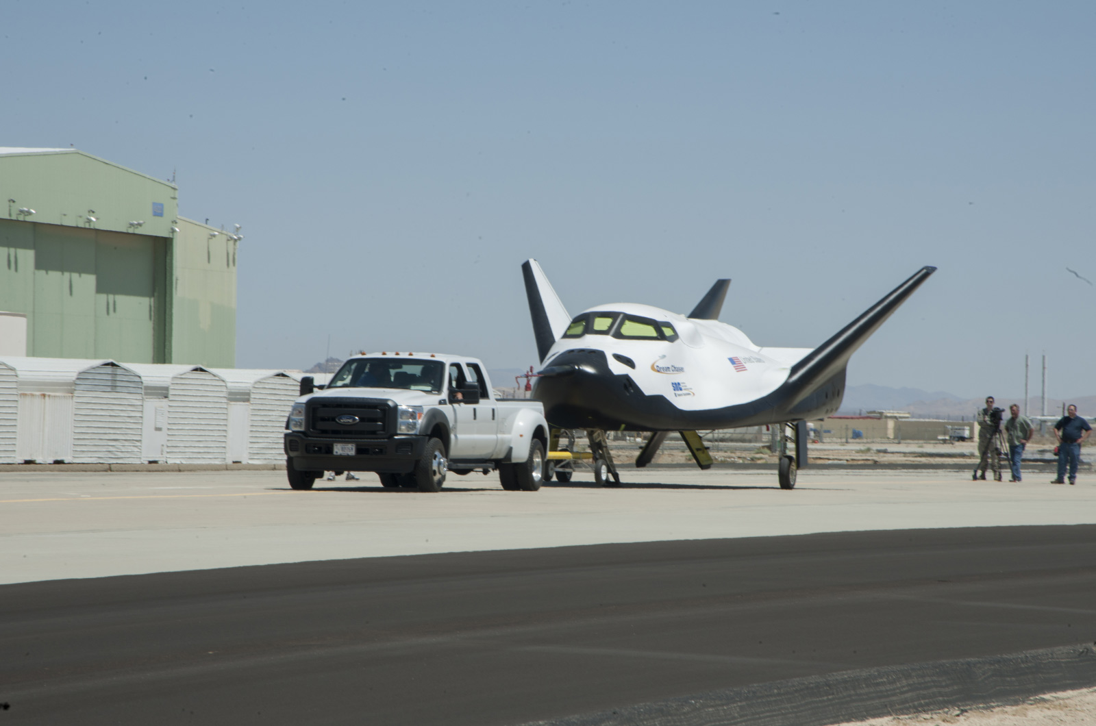 Dream Chaser Tow Test