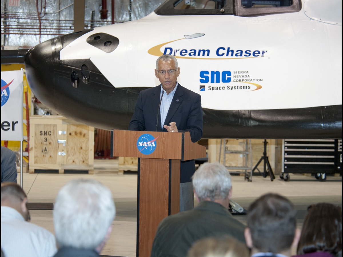 Bolden Discusses Dream Chaser Future