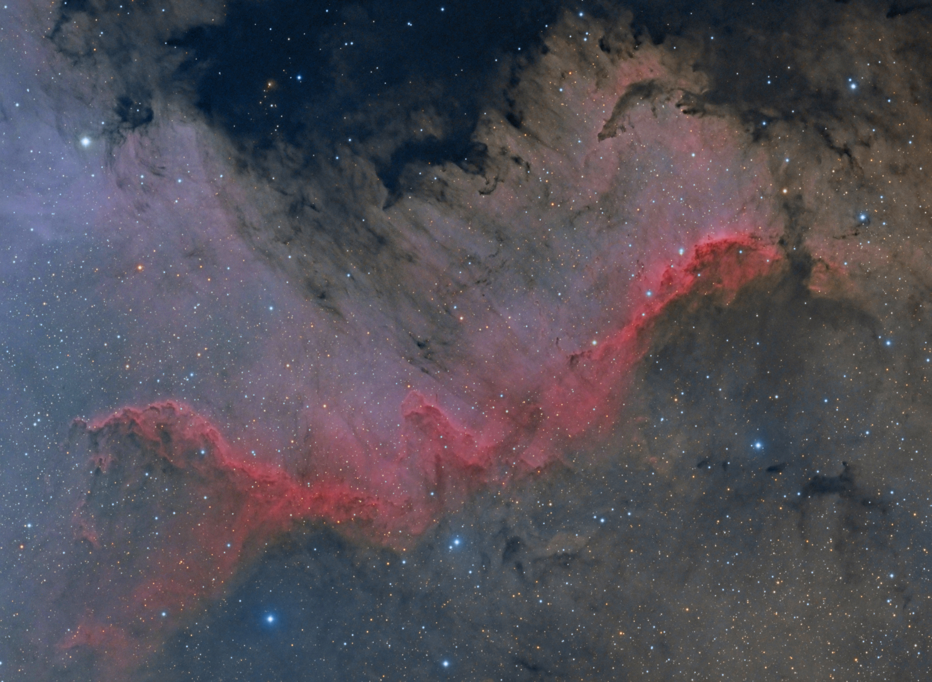 Stargazer Snaps Amazing View of Giant 'Wall' In Space (Photo)