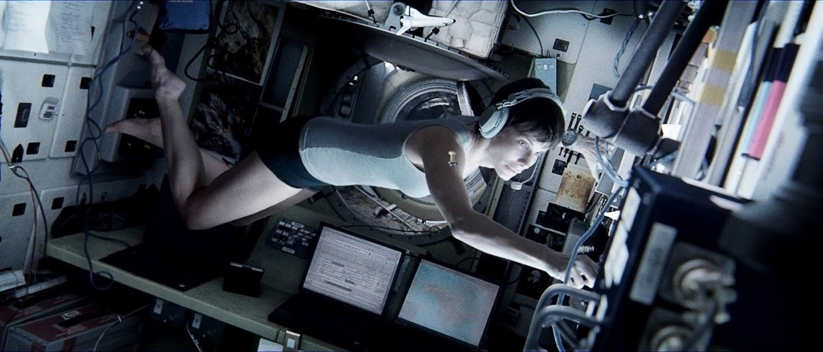 Sandra Bullock in 'Gravity' Movie