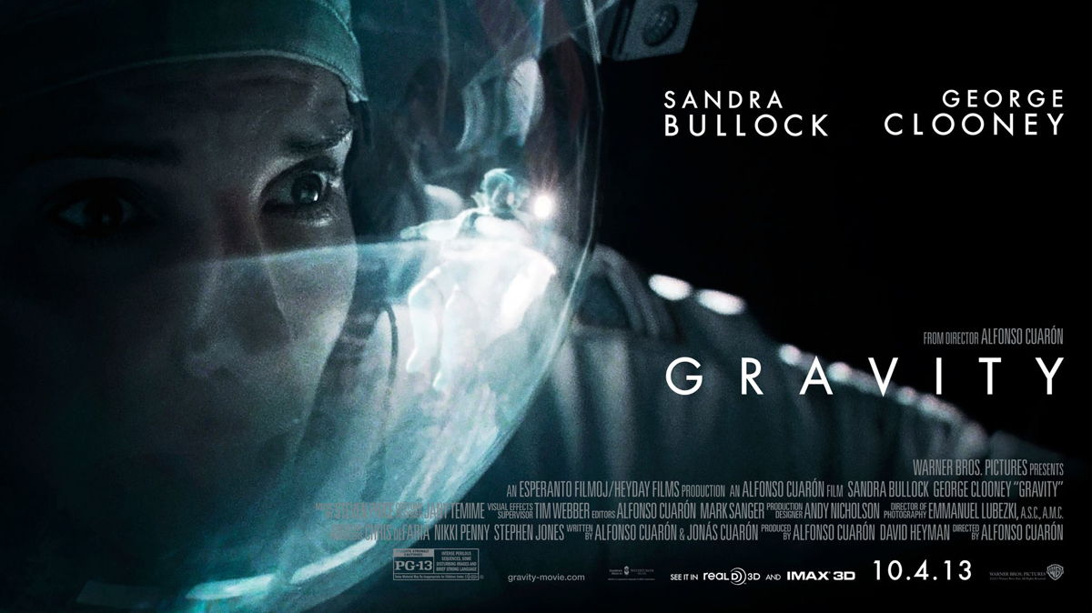 'Gravity' Movie Poster