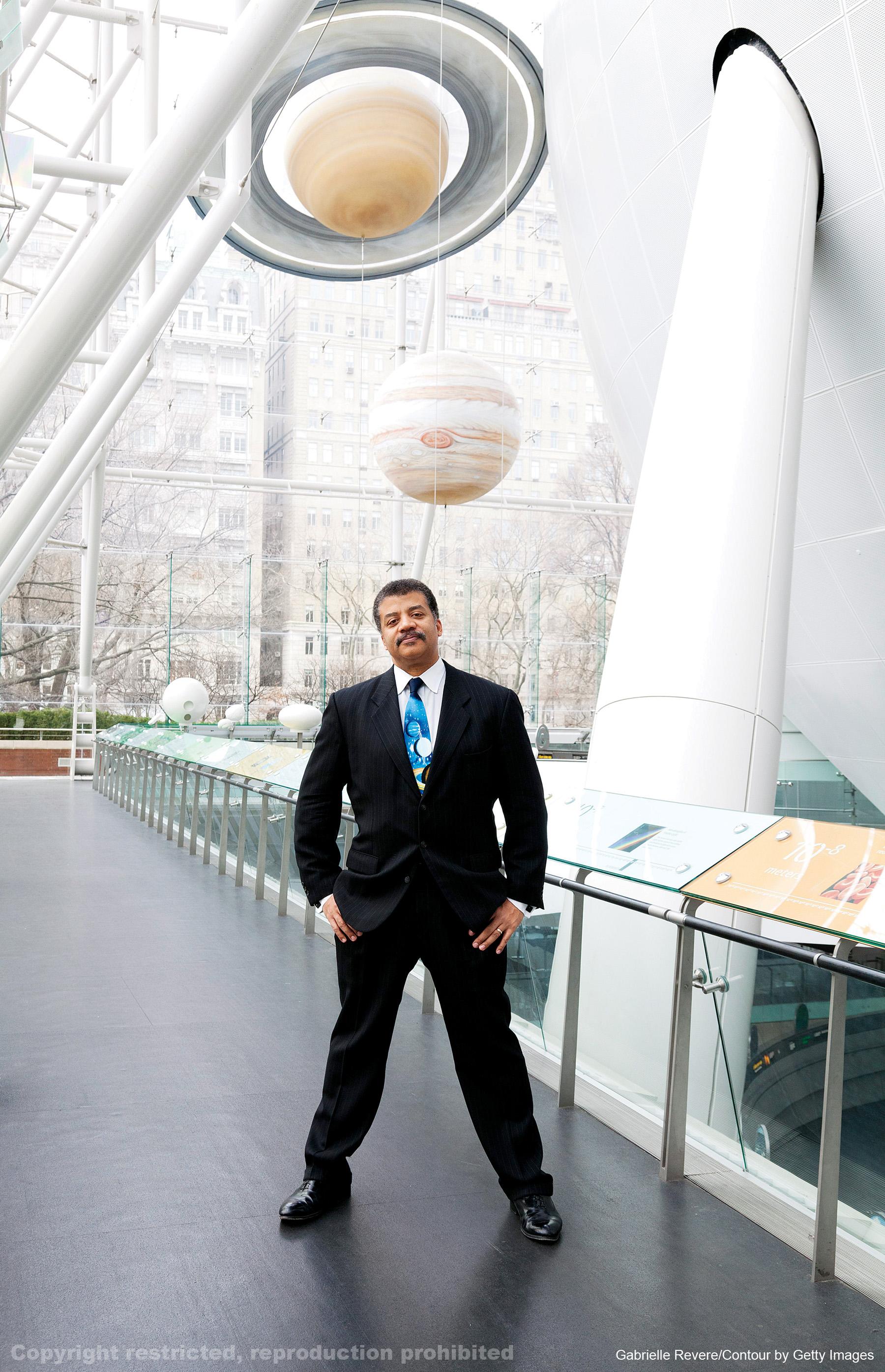 Neil deGrasse Tyson, Director of the Hayden Planetarium