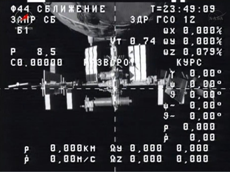 Russian Supply Ship Hauls Trash, Treadmill from Space Station