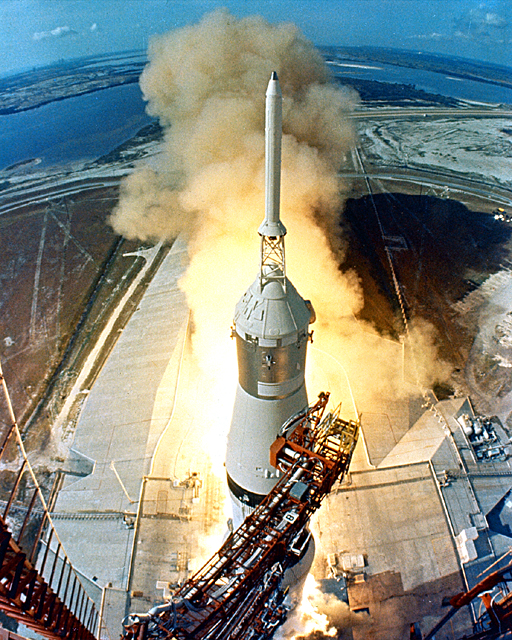 Space History Photo: Apollo 11 Launch