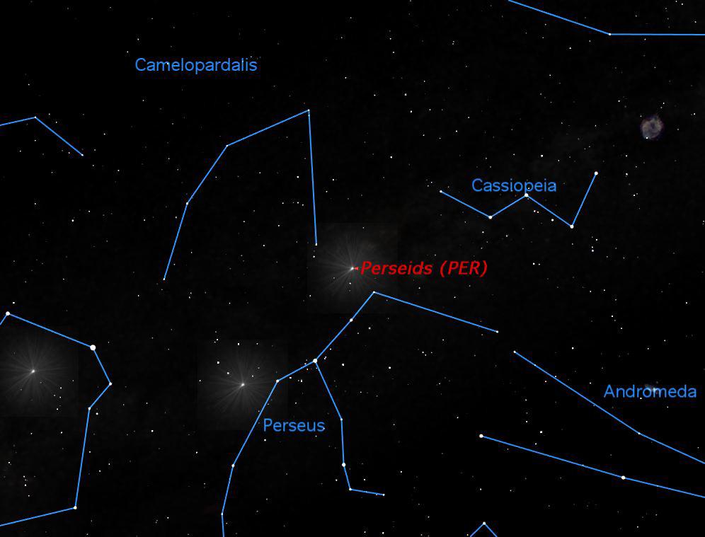 Perseid Meteor Shower, August 2013
