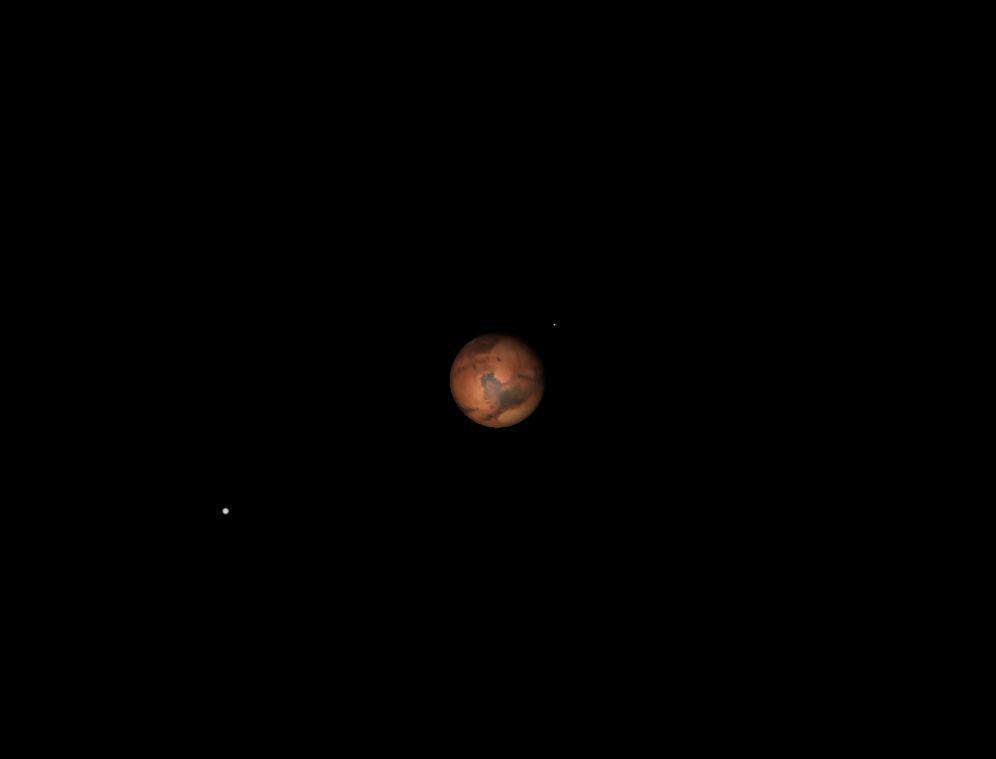 Mars, August 2013