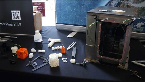 A 3D printer developed by Made in Space will fly to the International Space Station. Image released on July 29, 2013.