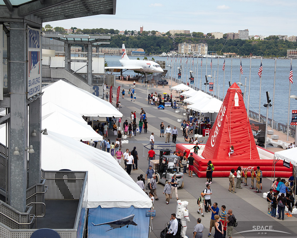Intrepid Sea, Air and Space Museum Hosts SpaceFest