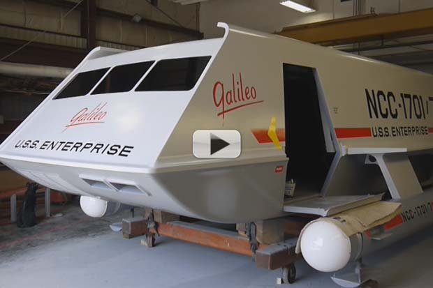 'Star Trek' Galileo Shuttlecraft – How It Was Restored To Flight Status | Video