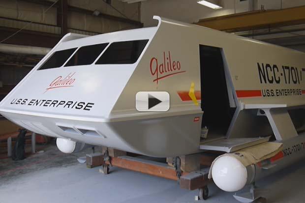 'Star Trek' Galileo Shuttlecraft – How It Was Restored To Flight Status | Video