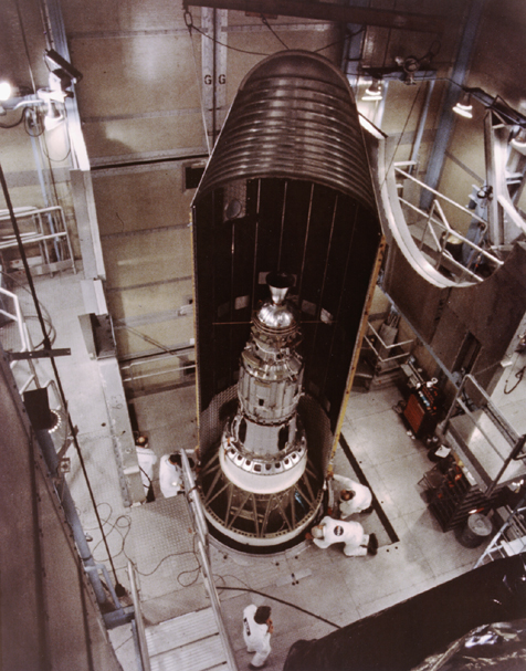 Space History Photo: Launch Preparation