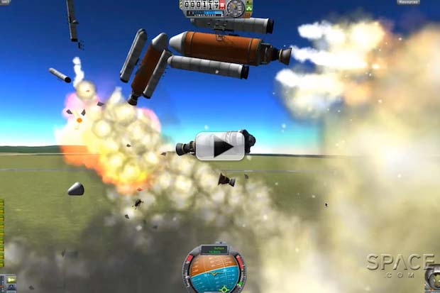 Build And Fly Your Own Rockets In Kerbal Space Program | Video